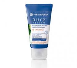 Глубоко очищающая маска для лица против прыщей Pure System Pore Cleansing Mask от Yves Rocher