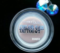 Кремовые тени для век Color Tattoo 24hr (оттенок № 91 Creme De Rose) от Maybelline