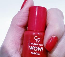 Лак для ногтей WOW! (оттенок № 39) от Golden Rose