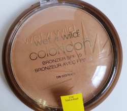 Бронзер Icon Collection Bronzer SPF 15 (оттенок E739 Ticket to Brasil) от Wet n Wild
