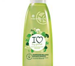 Эко-шампунь для блеска волос от Yves Rocher