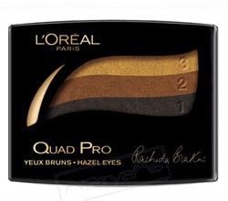 Тени для век QUAD PRO (оттенок № 356 Kerry Washington) от L'Oreal