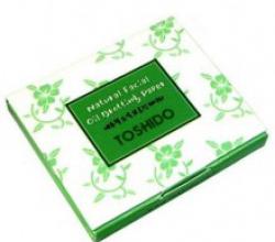 Матирующие салфетки Natural Faical Oil Control Blotting Paper от Tosido