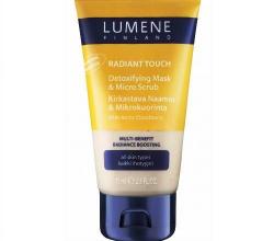 Средство 2в1: Детокс-маска и деликатный скраб Radiant Touch от Lumene
