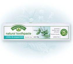"Зубная паста ""Перечная мята""от Nature's Gate"