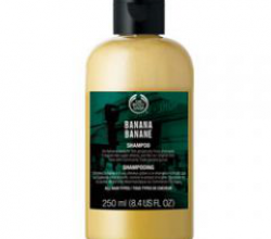 Banana Shampoo & Banana Conditioner The Body Shop