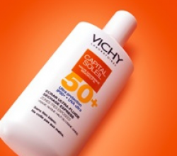 Эмульсия ультражидкая солнцезащитная для комбинированной и жирной кожи лица Capital Soleil SPF 50+ от Vichy