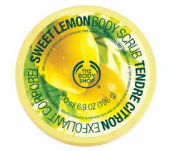 Скраб для тела Сладкий лимон Sweet Lemon Body Scrub от The Body Shop