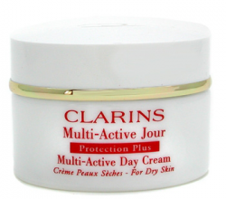 Защитный дневной крем Multi-Active Day Protection Plus Cream All Skin Types от CLARINS