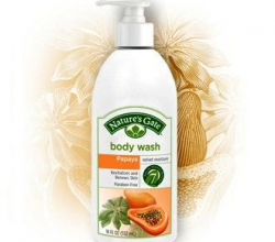 "Гель для душа ""Папайя"" Papaya Velvet Moisture Body Wash от Nature's Gate"