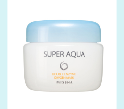 Очищающая маска для лица Super Aqua Double Enzyme Oxygen Mask от Missha