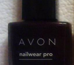 "Лак для ногтей Nail wear pro+ (оттенок ""Лакрица"") от Avon"