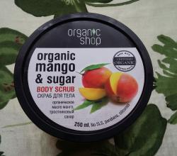 """Скраб для тела """"Кенийский манго"""" от Organic Shop"""
