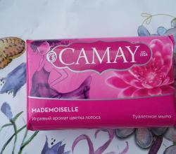 Туалетное мыло Mademoisele от Camay