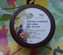 Гидрогелевая маска для лица с фруктовыми АНА-кислотами для жирной и проблемной кожи от Organic Zone