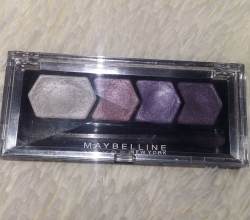 Тени для век Silk glam by Eye Studio (оттенок № 11 Purple drama) от Maybelline