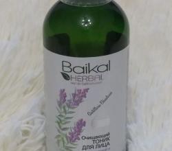 Очищающий тоник для лица для жирной и комбинированной кожи от Baikal Herbals