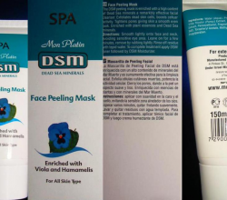 Маска-пилинг для лица DSM Face Peeling Mask от Mon Platin