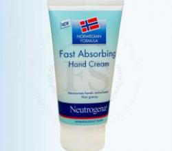 Быстро впитывающийся крем для рук от Neutrogena