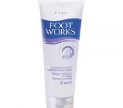 Отшелушивающая маска для ног с глиной от Avon (1)