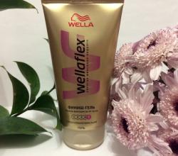 Финиш-гель суперсильной фиксации для укладки волос от Wella