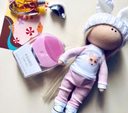 Настраиваемая щетка для чистки и spa-массажа лица Luna Mini 2 (оттенок Pearl Pink) от Foreo