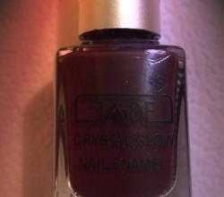 Лак для ногтей Crystal glow (оттенок № 376 Wild plum) от Ga-de