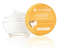"""Питательный крем для лица """"Ультракомфорт 24 Часа"""" из серии NUTRITIVE VEGETAL от Yves Rocher"""