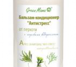 "Бальзам-кондиционер от перхоти ""Антистресс"" с морскими водорослями от Green Mama"
