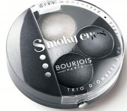 """Тени трио для век """"Smoky eyes"""" (оттенок № 01 Gris dandy) от Bourjois"""