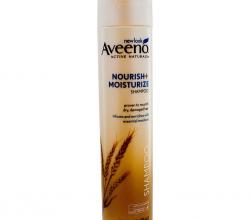 Питающий и увлажняющий шампунь с активными натуральными компонентами от Aveeno