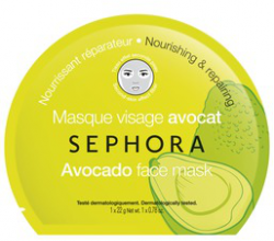 """Тканевая маска для лица с Авокадо """"Питание и восстановление"""" от Sephora"""