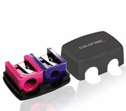 Косметическая двойная точилка для карандашейMake Your Point Duo Cosmetic Pencil Sharpener от Colorbar Cosmetics