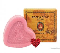 Мыло для умывания на каждый день Rose & Olive Soap от Madame Heng