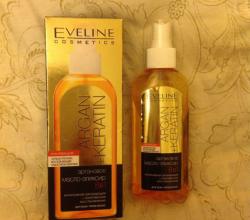 Аргановое масло-эликсир 8 в 1 для волос от Eveline