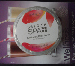 "Имбирный скраб для тела ""Шведский SPA салон"" от Oriflame"