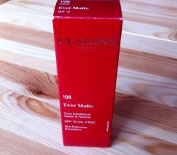 Нормализующий тональный крем с устойчивым матирующим эффектом Ever Matte spf 15 Oil-Free (оттенок № 108 Sand) от Clarins