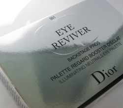 Палетка теней для век Eye Reviver backstage pros palette regard booster d'eclat illuminating neutrals eye palette (оттенок № 001) от Dior