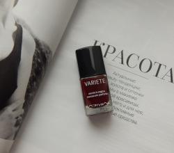 Лак для ногтей Variete Vernis a Ongles (оттенок № 412 Vaudeville bordeaux) от Л'Этуаль