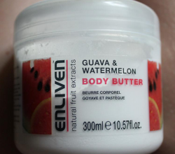 "Крем для тела Body butter ""Guava & watermelon"" от Enliven"