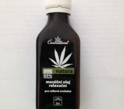 Расслабляющее масло для массажа от Сannaderm