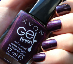 Лак для ногтей Gel Finish (оттенок Perfectly Plum) от Avon