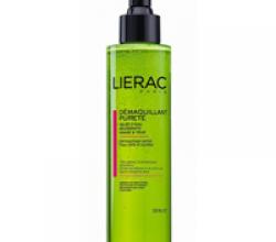 Очищающий гель для лица и контура глаз от Lierac