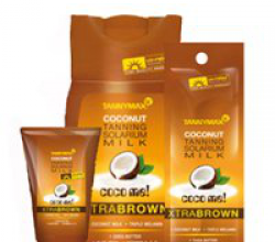 Крем для загара в солярии Xtra Dark Coconut Bronzing Solarium Milk от Tannymax