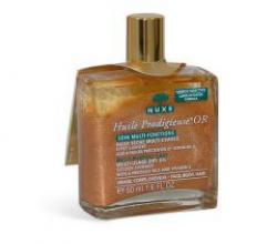 Золотое масло для лица, тела и волос от Nuxe