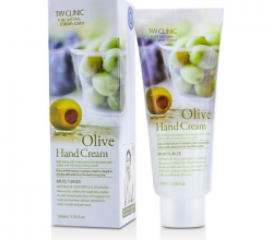 Увлажняющий крем для рук с оливой от 3W Clinic