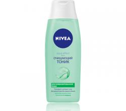 Очищающий тоник для комбинированной кожи лица Aqua Effect от Nivea