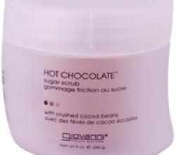 "Сахарный скраб для тела "" Горячий шоколад"" от Giovanni"