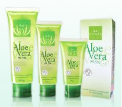 Гель для лица с 99.5 % экстрактом Алоэ Вера от VITARA