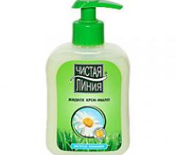 Жидкое крем-мыло с экстрактом ромашки от Чистая линия